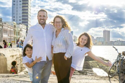 beautiful family photo shoot in havana Lamfor photography